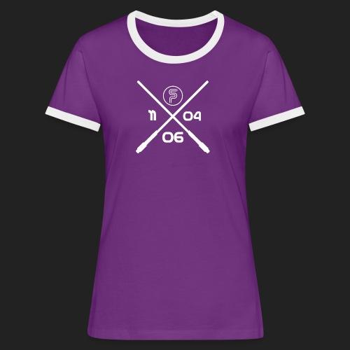 Gründungsdatum SP - Frauen Kontrast-T-Shirt
