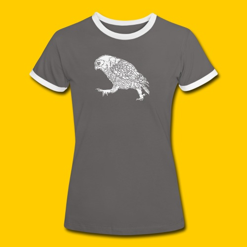 Oh...wl - Kontrast-T-shirt dam