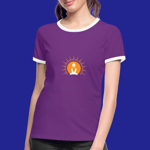 Guramylyfe logo white no text - Women's Ringer T-Shirt