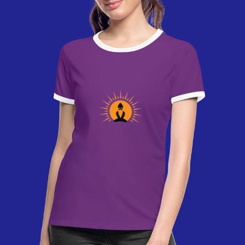 Guramylife logo black - Women's Ringer T-Shirt