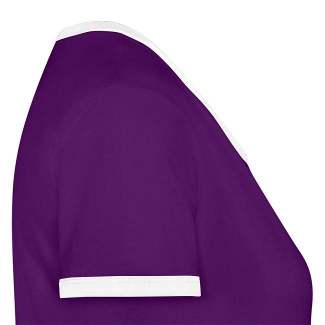 Vorschau: Glaub an dich - Frauen Kontrast-T-Shirt