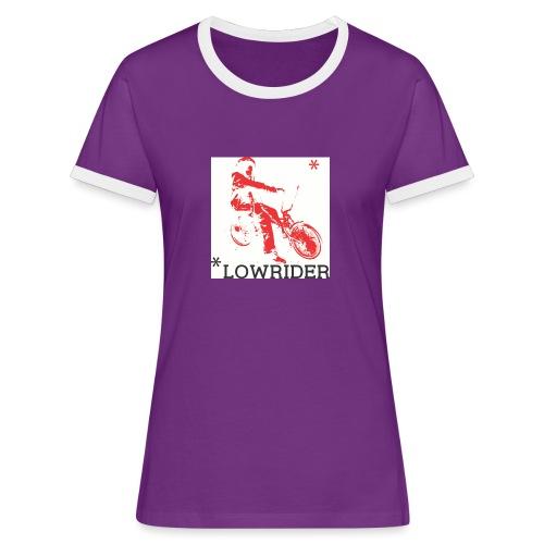 Aste Lowrider - T-shirt contrasté Femme