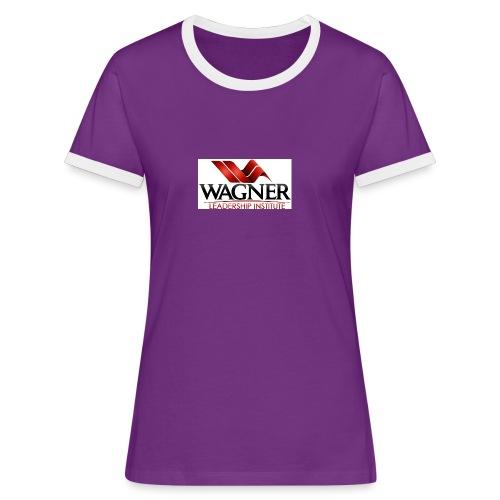 wli logo large jpg - Women's Ringer T-Shirt