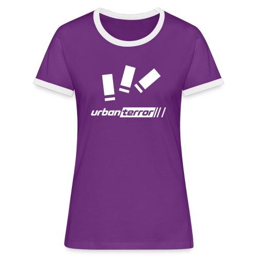 Urban Terror bullets - Vrouwen contrastshirt
