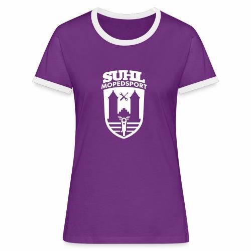 Suhl Mopedsport S50 / S51 Logo No.2 - Women's Ringer T-Shirt