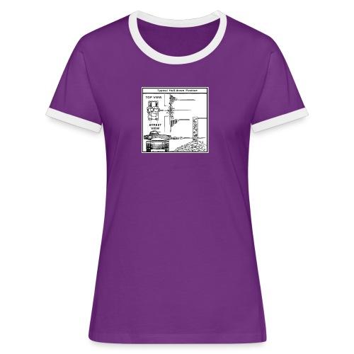 W.O.T War tactic, tank shot - Women's Ringer T-Shirt