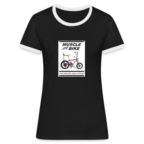 musclebike03 - T-shirt contrasté Femme