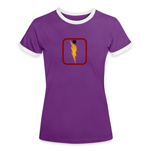 Foudre de Taranicité - T-shirt contrasté Femme