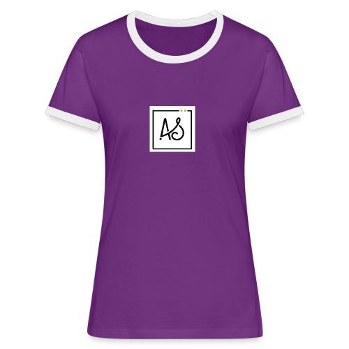 AS-fond-blanc - T-shirt contrasté Femme