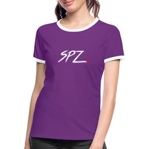SPZ grafitti - Kontrast-T-skjorte for kvinner