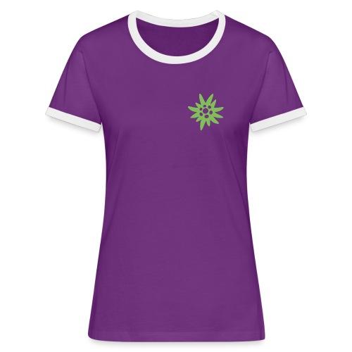 ew front 56c 80y png - Frauen Kontrast-T-Shirt