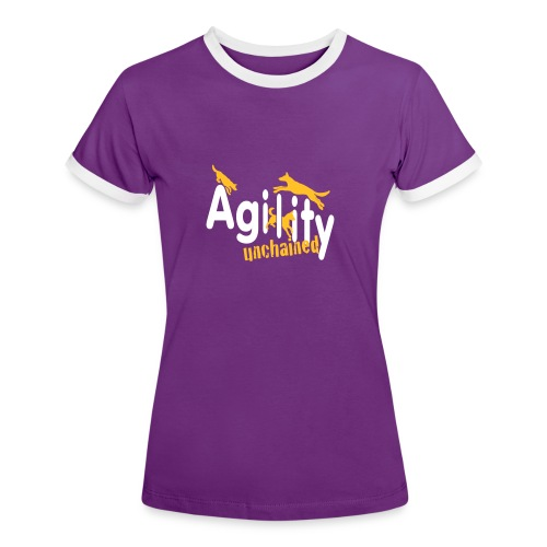 Agility unchained__ohne S - Frauen Kontrast-T-Shirt
