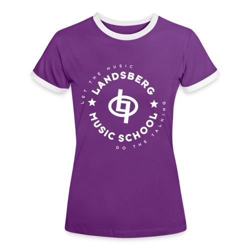 sternlogo1 ai - Frauen Kontrast-T-Shirt