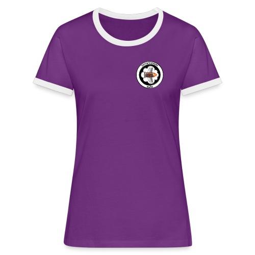 tervalentajat logo - Naisten kontrastipaita