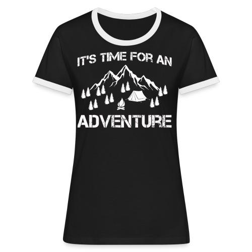 It's time for an adventure - Women's Ringer T-Shirt