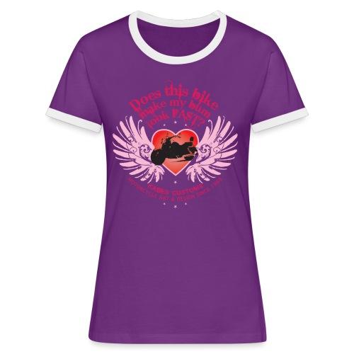 Kabes Fast Bum T-Shirt - Women's Ringer T-Shirt