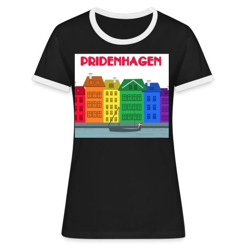 PRIDENHAGEN - Nyhavn - Dame kontrast-T-shirt