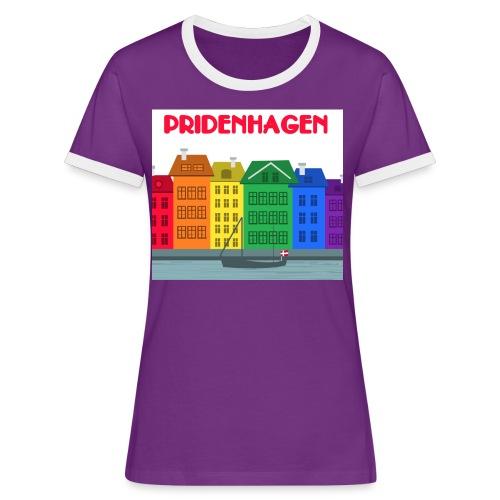 PRIDENHAGEN RETRO T-SHIRT - Dame kontrast-T-shirt