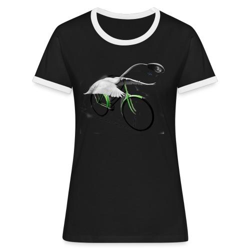 Ninho Bycicle - Maglietta Contrast da donna