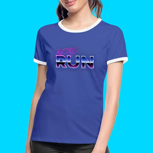 Retro Run Merch - Women's Ringer T-Shirt