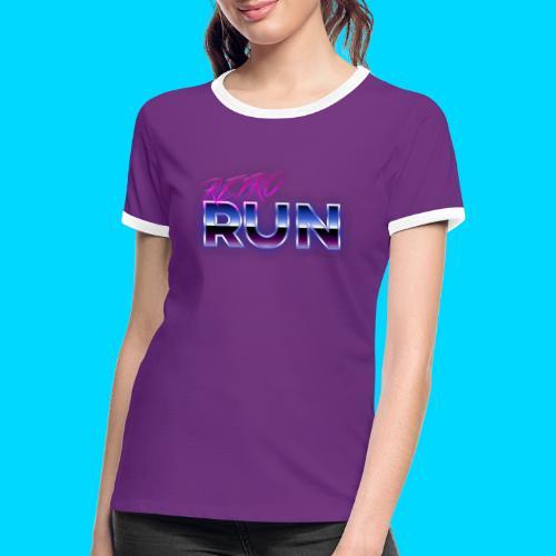 Retro Run Merch - Women's Ringer T-Shirt