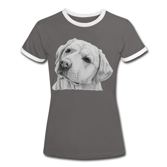 labrador retriever yellow - head
