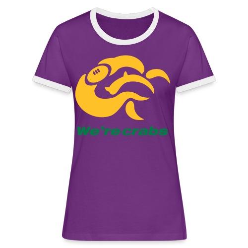 Crazycrab_Australia - Maglietta Contrast da donna