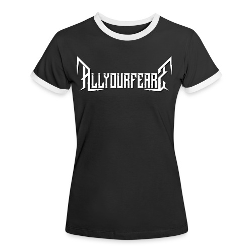 All Your Fears - Band's name - Frauen Kontrast-T-Shirt