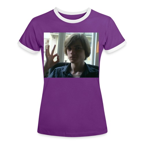 The official RetroPirate1 tshirt - Women's Ringer T-Shirt