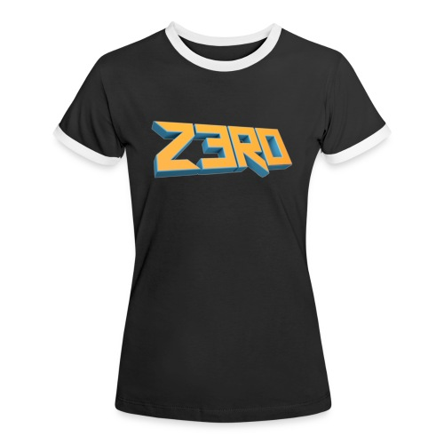 The Z3R0 Shirt - Women's Ringer T-Shirt