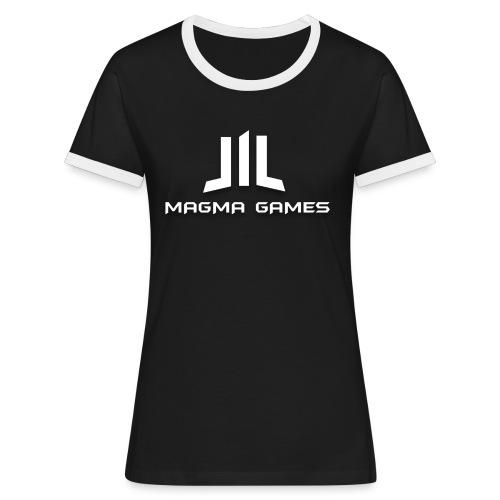 Magma Games t-shirt - Vrouwen contrastshirt