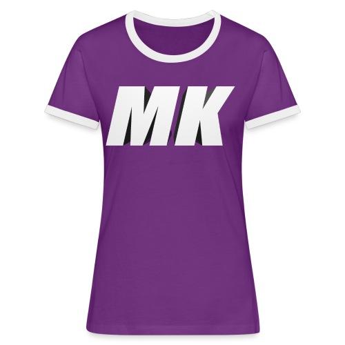 MK 3D - Vrouwen contrastshirt