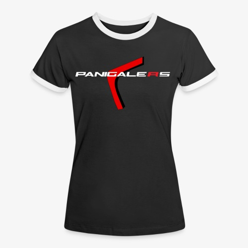 Panigalers - Camiseta contraste mujer