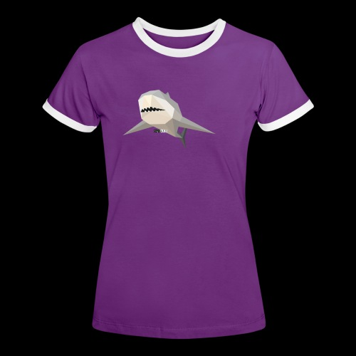 SHARK COLLECTION - Maglietta Contrast da donna