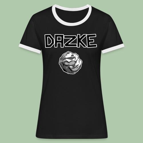3968339 14986329 - Frauen Kontrast-T-Shirt
