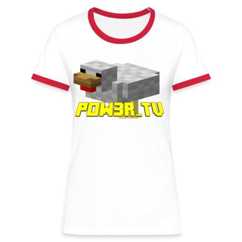 POW3R-IMMAGINE - Maglietta Contrast da donna