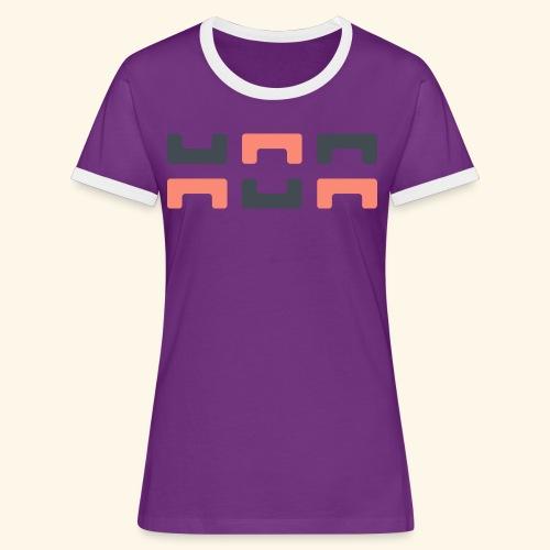 Angry elephant - Women's Ringer T-Shirt