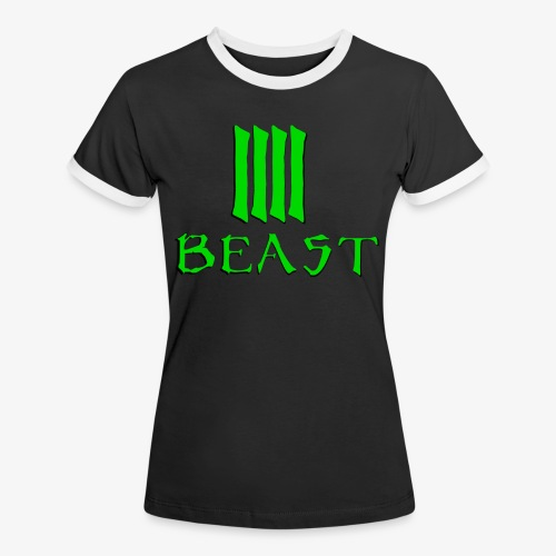 Beast Green - Women's Ringer T-Shirt
