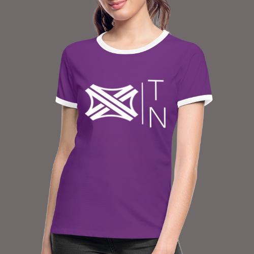 Tregion logo Small - Women's Ringer T-Shirt