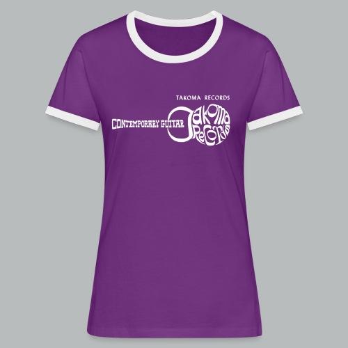 Takoma Records - Women's Ringer T-Shirt