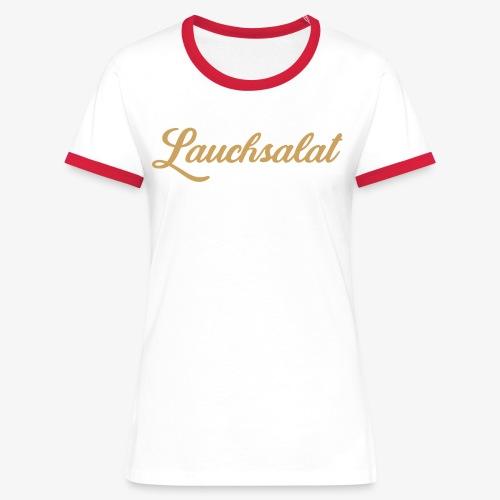 PorrOro - Frauen Kontrast-T-Shirt