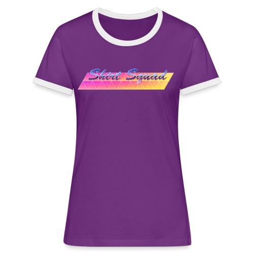 80's Shirt Squad - Women's Ringer T-Shirt