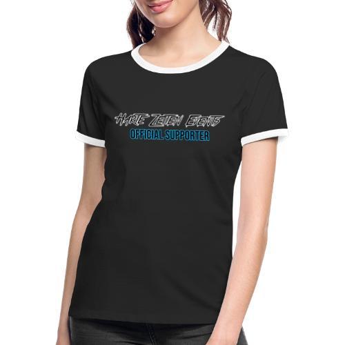 Official Supporter - Frauen Kontrast-T-Shirt