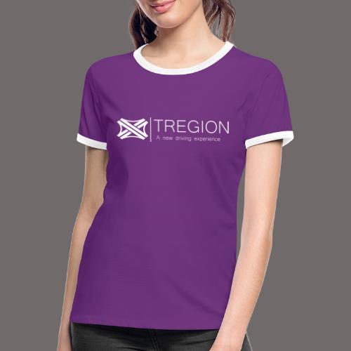 Tregion Logo wide - Women's Ringer T-Shirt