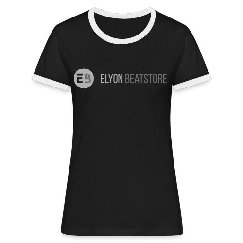 ElyonBeatstore Logo - Vrouwen contrastshirt