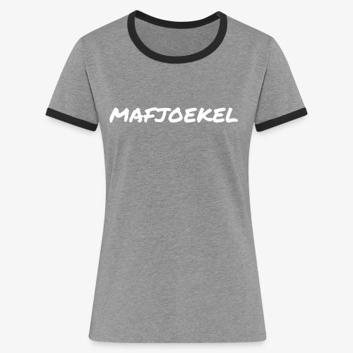 mafjoekel - Vrouwen contrastshirt