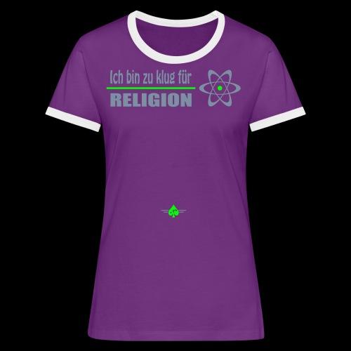 Atheist - Frauen Kontrast-T-Shirt