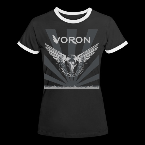 Voron - Propaganda - T-shirt contrasté Femme