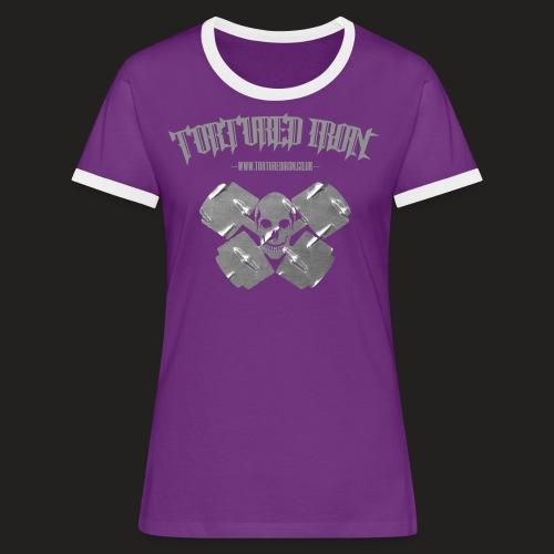 skull - Women's Ringer T-Shirt