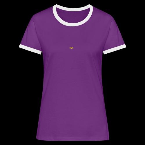 swai schriftzug - Frauen Kontrast-T-Shirt
